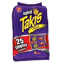 Mini Takis Fuego, Snack Packs, 25 Count
