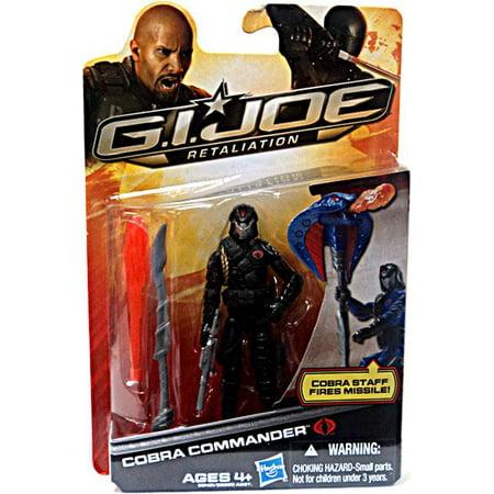 GI Joe Retaliation Cobra Commander Action Figure [Black - Gi Joe Outfit