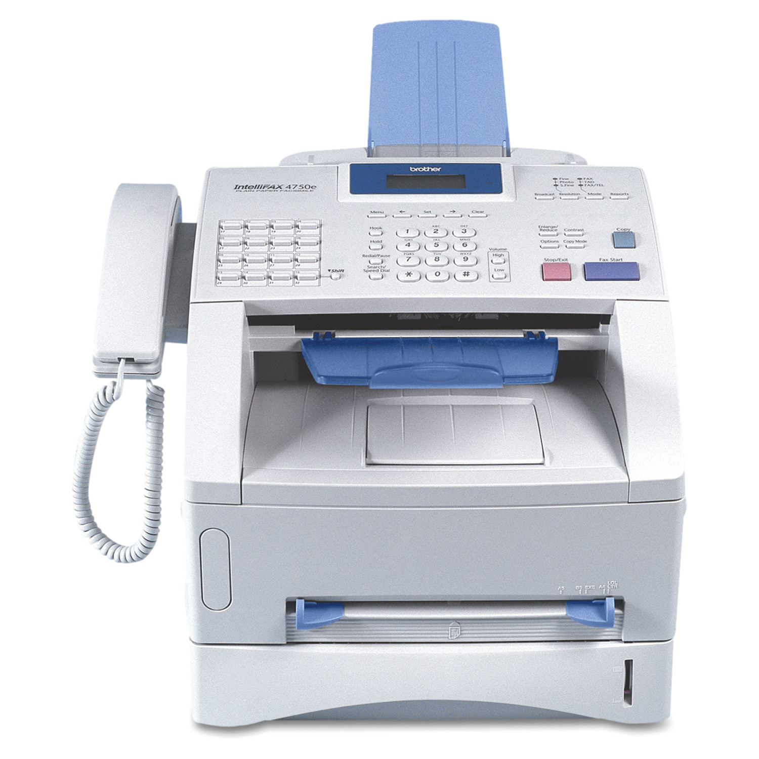 Brother intelliFAX-4750e Business-Class Laser Fax Machine, Copy Fax Print by Brother