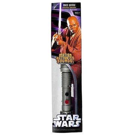 Upc 653569013075 Star Wars Electronic Lightsabers Mace Windu Electronic Lightsaber Upcitemdb Com