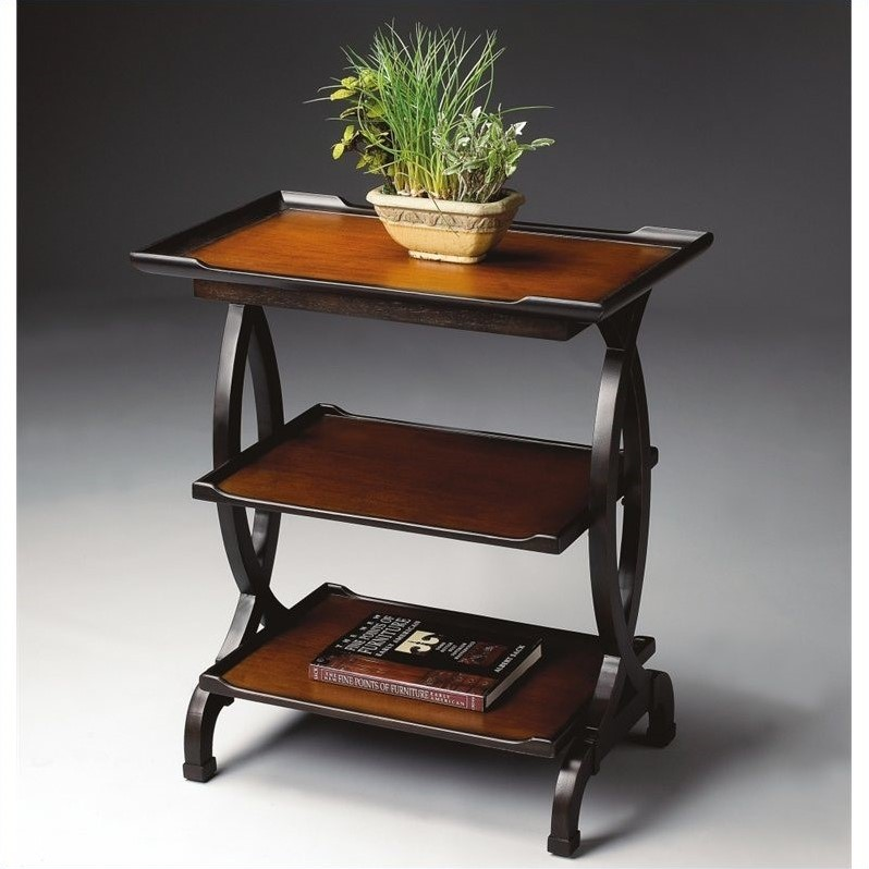 Butler Specialty Side Table in Transitional Cherry Finish