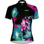 Primal Wear Mahalo Women's Cycling Jersey: Black/Blue/Pink, MD