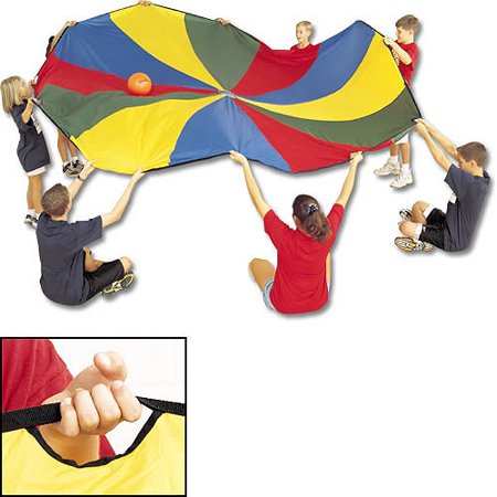 24' Parachute with 20 Handles