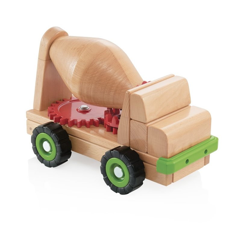 Kingfisher Lane Big Block Cement Mixer Truck by
