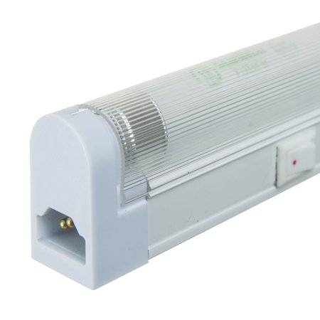 Li16t4 Cw 16 Watt Fluor  Under Cabinet Fixture W Plug Wht Fin
