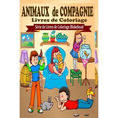 Animaux De Compagnie Livres De Coloriage Walmartcom