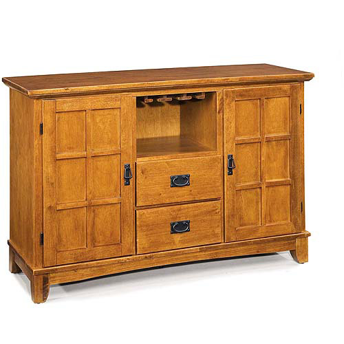 Home Styles Arts & Crafts Buffet, Cottage Oak by Home Styles