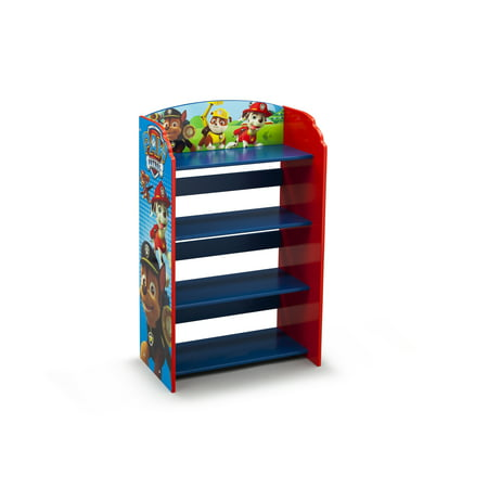 Nick Jr. PAW Patrol Wood Bookshelf by Delta Children ()