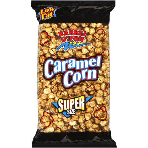 Barrel O' Fun Caramel Corn, 18 oz