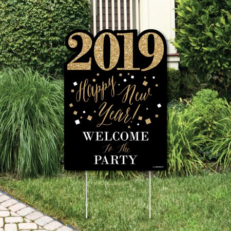 New Year\'s Eve - Gold - Party Decorations - 2019 New Years Eve ...