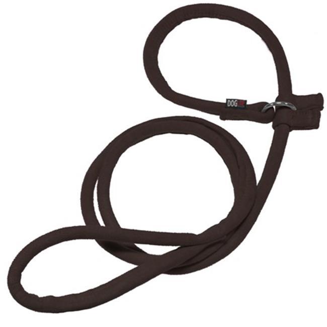 60 L x 0.38 W in. Comfort Microfiber Round Slip Lead, Black