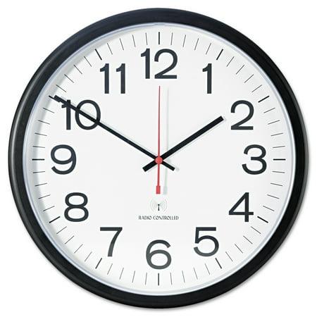 Universal Deluxe Indoor/Outdoor Atomic Clock, 13 1/2