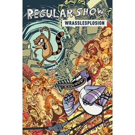 Regular Show Halloween Special 4 (Regular Show Original Graphic Novel Vol. 4: Wrasslesplosion -)