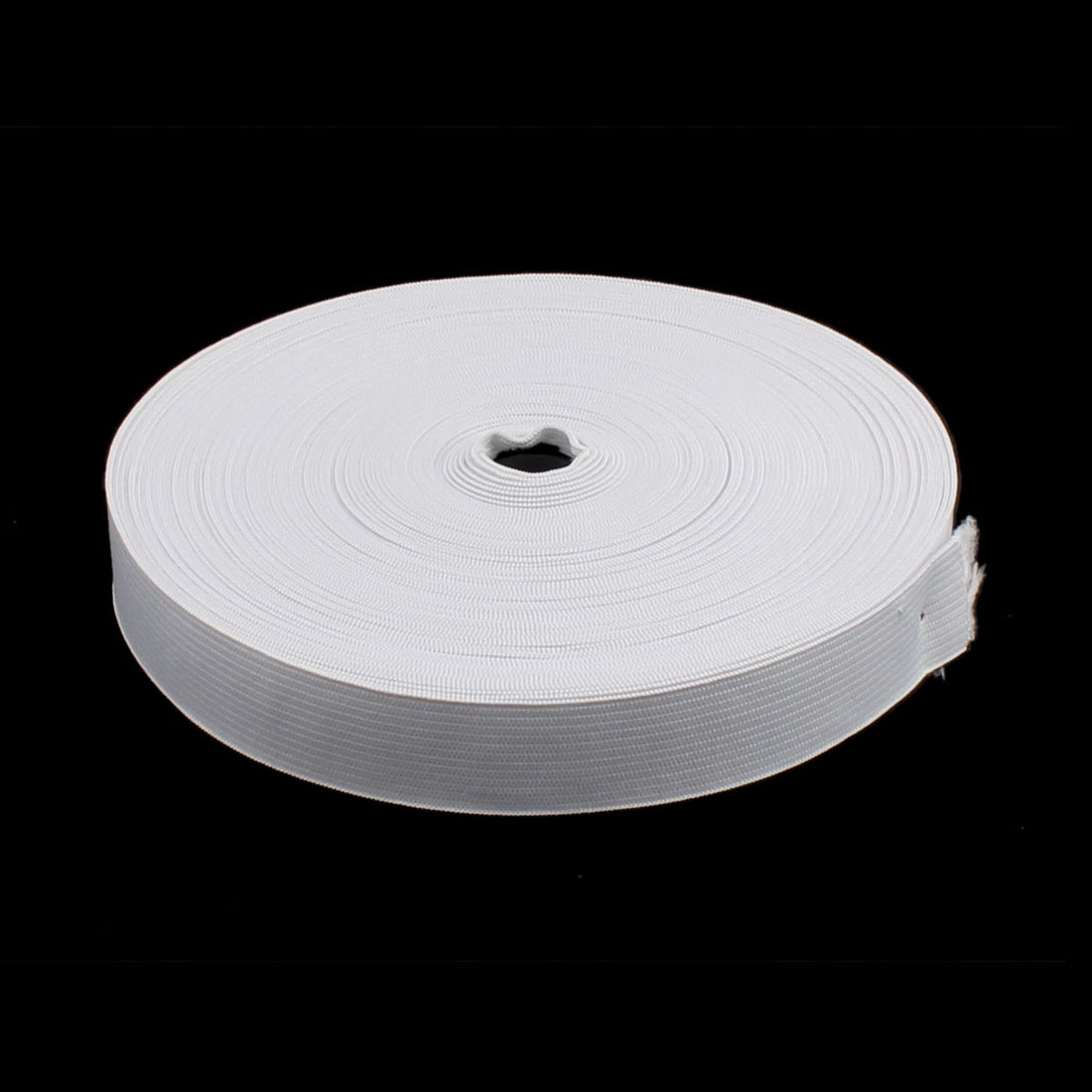Clothes Trousers Pants Skirt Polyester Elastic Band String White 12M Length 2pcs - image 2 of 3