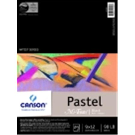 - Canson Mi-Teintes Rough Paper Pad - 9 x 12 in. - 24 Sheets, Black