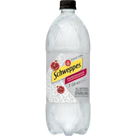 Schweppes Cranberry Lime Sparkling Water Beverage, 1 L