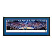 """Kansas Jayhawks 18"""" x 44"""" Deluxe Frame Panorama Wall Art"""
