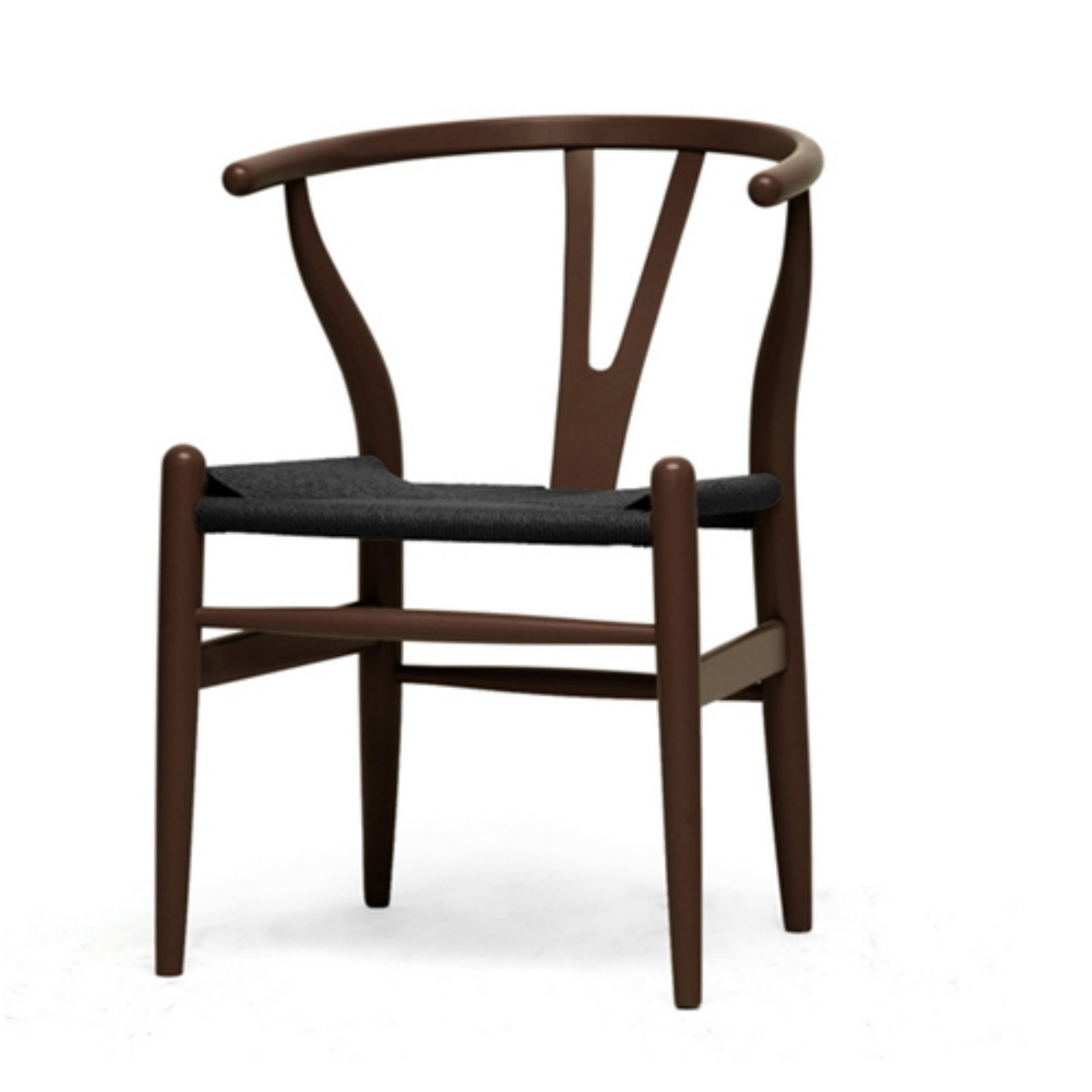 Baxton Studio Wishbone Arm Dining Chair