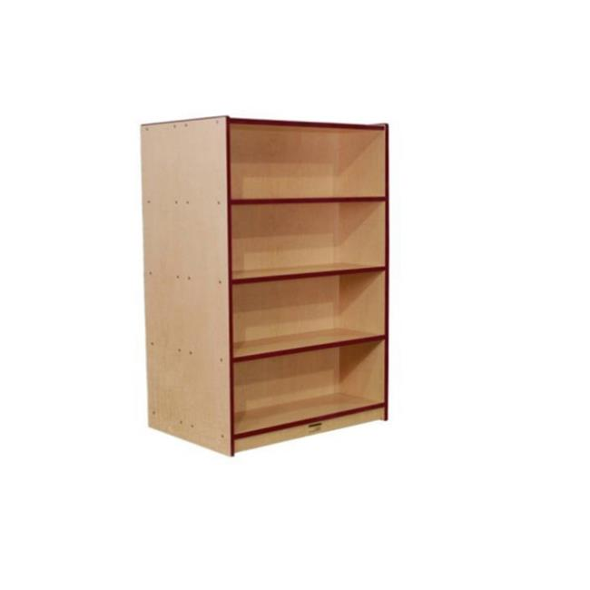 Mahar Manufacturing N72DCASEPR Double Sided Book Case in ...