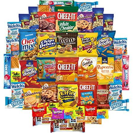 Cookies, Chips & Candies Care Package Variety Pack Bundle Sampler (50 - Packaged Halloween Cookies