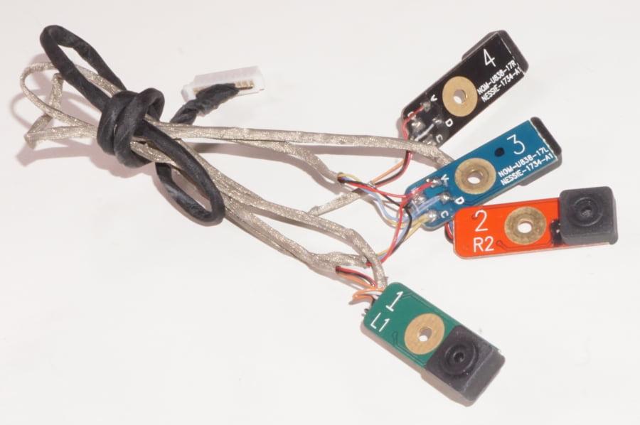 MXCRG Latitude E7450 E7250 Dual Array Microphone Module Assembly
