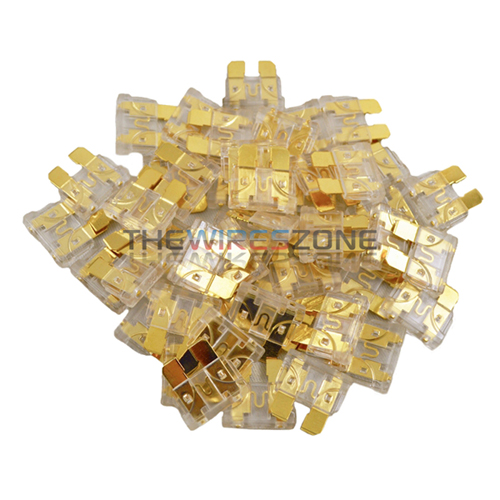 25 Amp ATC Blade Style Automotive Car Truck Boat Marine RV Fuse (50/Pack) 25A