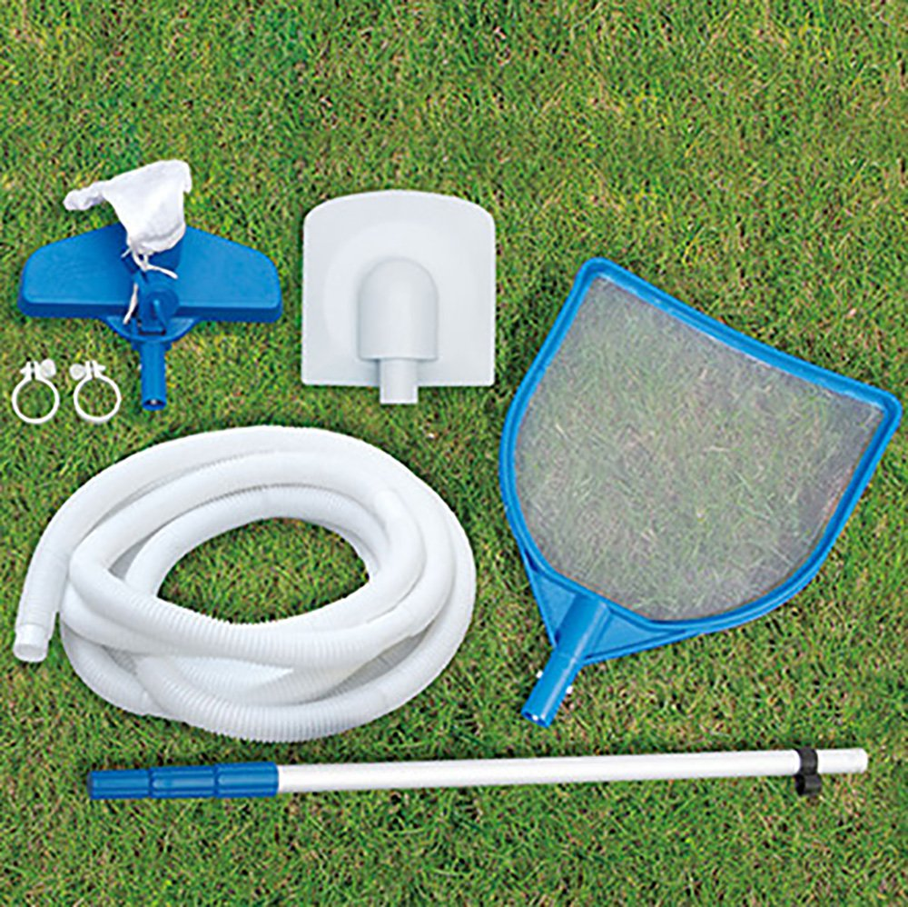 """Summer Waves 20' x 48"""" Above Ground Backyard Swimming Pool Set w/ Ladder & Cover"""