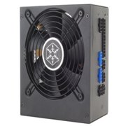 SilverStone 600W Power Supply - 80 PLUS Silver, Modular, 120mm Fan, Low Ripple & Noise, Voltage Regulation,  - ST60F-PS