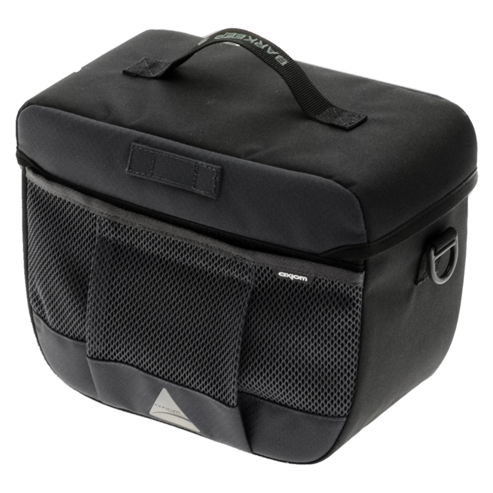 Axiom Barkeep Handlebar Bag 9 Gray/Black
