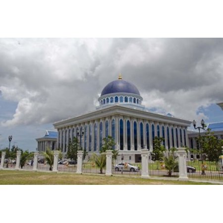 Parliament legislative assembly building Bandar Seri Begawan Brunei Borneo Canvas Art - Cindy Miller Hopkins DanitaDelimont (33 x 22)