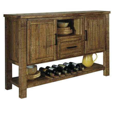 Ashley Furniture Krinden Dining Room Server in Light Brown ...