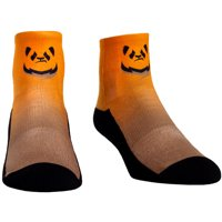 Chengdu Hunters Rock Em Socks Women's Dip Dye Quarter-Length Socks - Orange/Natural - S/M