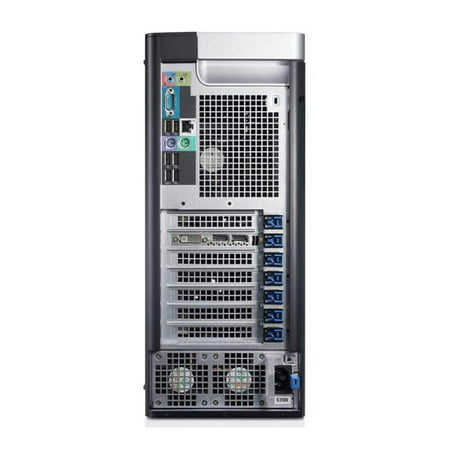 Refurbished Dell Precision T3600 Workstation E5-1620 Quad Core 3.6Ghz 16GB 256GB SSD Dual DVI - image 2 of 2