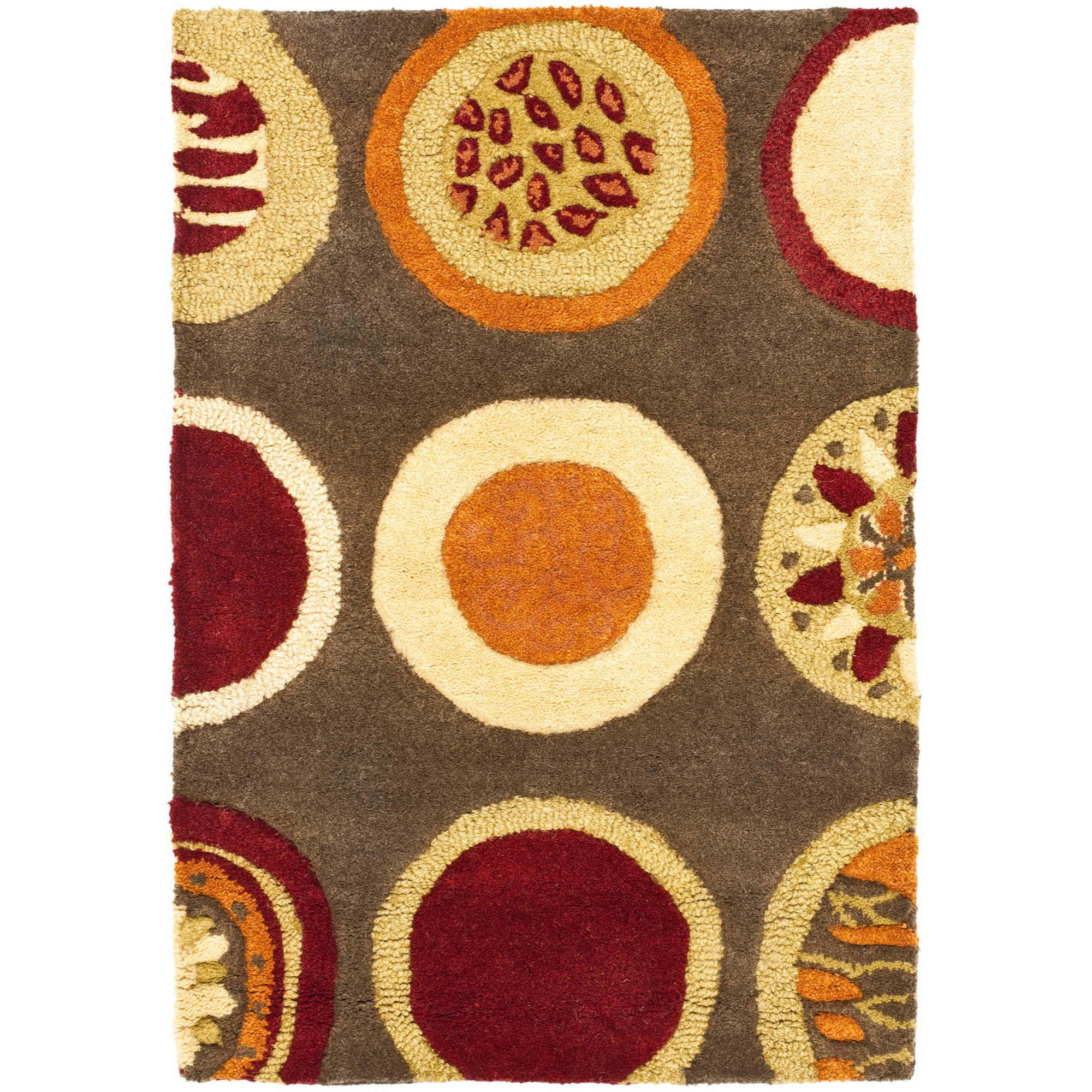 Safavieh Soho Selma Wool Rug, Brown/Multi-Color