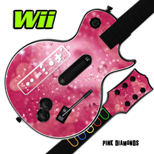 MightySkins Skin Decal Wrap Compatible with GUITAR HERO Sticker Protective Cover 100's of Color Options