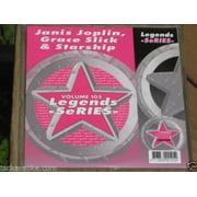 LEGENDS Karaoke CDG JANIS JOPLIN, GRACE SLICK JEFFERSON STARSHIP AIRPLANE