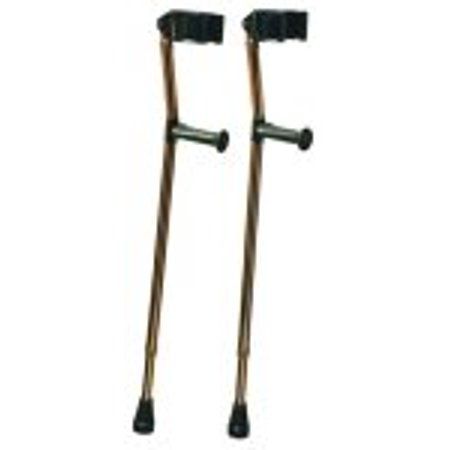 Deluxe Ortho Forearm Crutches (Forearm Crutch Holder)