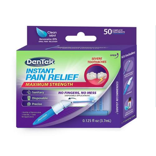 DenTek Adult Instant Pain Relief Kit,  50 ea (Pack of 2)