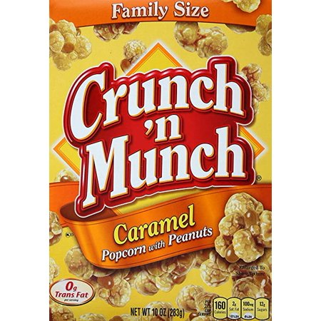 - Crunch 'n Munch Caramel Popcorn With Peanuts (Pack of 12)