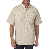 Columbia Men's Bahama II Short-Sleeve Shirt - FOSSIL - 3XL 7047