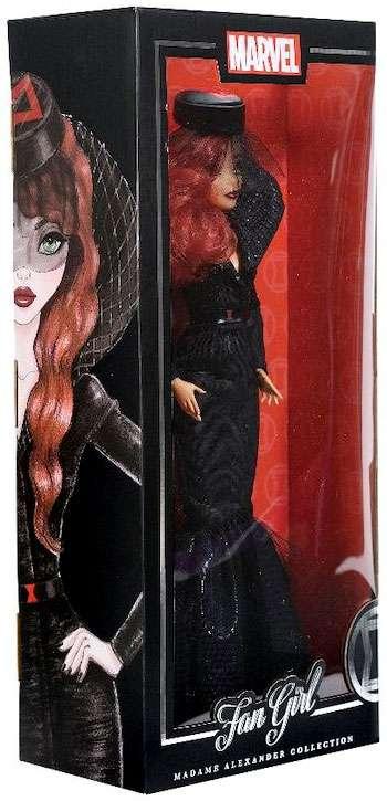 "Marvel Fan Girl BLACK WIDOW Madame Alexander 13.5/"" Doll New"
