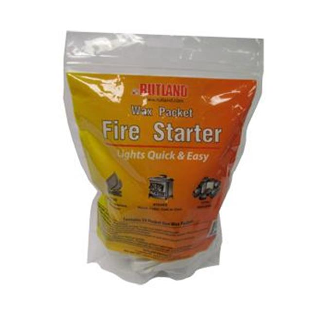Rutland Products 49WP Wax Packet Fire Starter by Rutland Products
