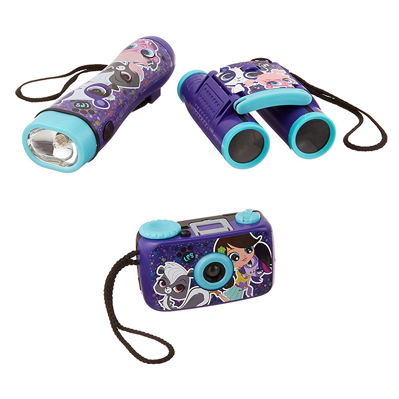 Image of Littlest Pet Shop 3-Piece Adventure Kit with Camera, Flashlight, and Binocular