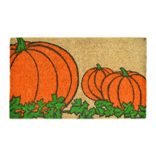 Imports Decor Creel Pumpkin Doormat