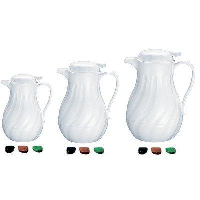 - Update International Swirl Push-Button Top High Impact Plastic Coffee Carafe White, 42 oz. | 1/Each