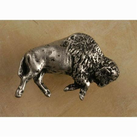 Buffalo rt knob Set of 10 Antique Bronze