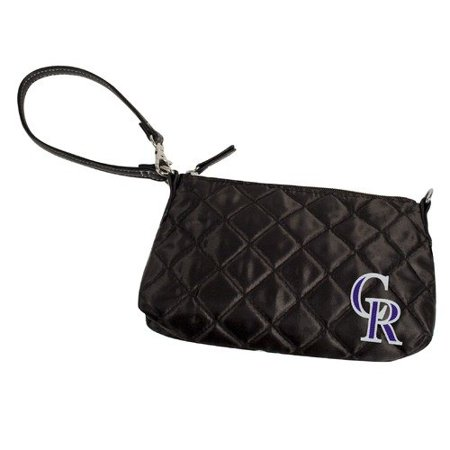 Little Earth DO NOT SET LIVE! MLB Colorado Rockies Quilted Wristlet by