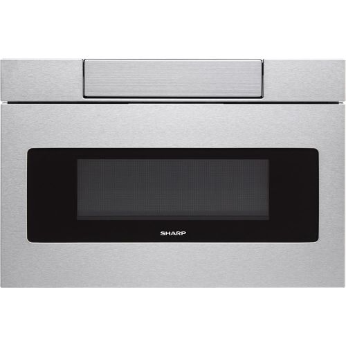 "Sharp SMD3070A 30"" Wide 1000 Watt 1.2 Cu. Ft. Drawer Microwave with Push Button Opening"