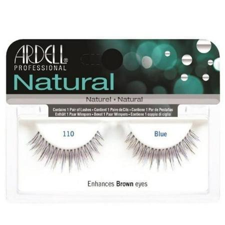 (Pack of 3) Ardell Natural Eyelashes - 110 Blue (Blue Eyelashes)
