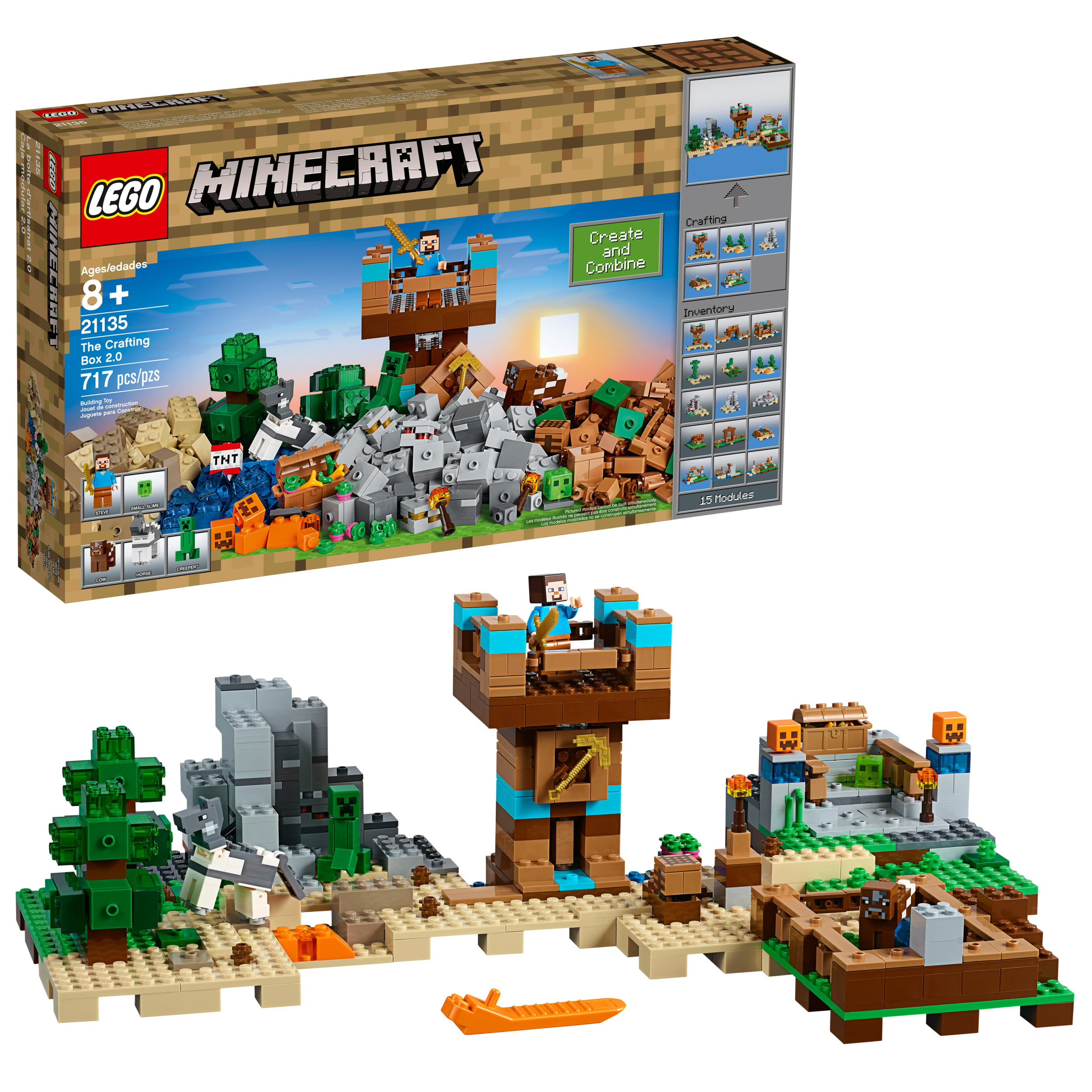 Lego Minecraft The Crafting Box 2.0 21135 by LEGO System Inc